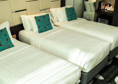 Triple Bedded Room - Hotel Clover Asoke